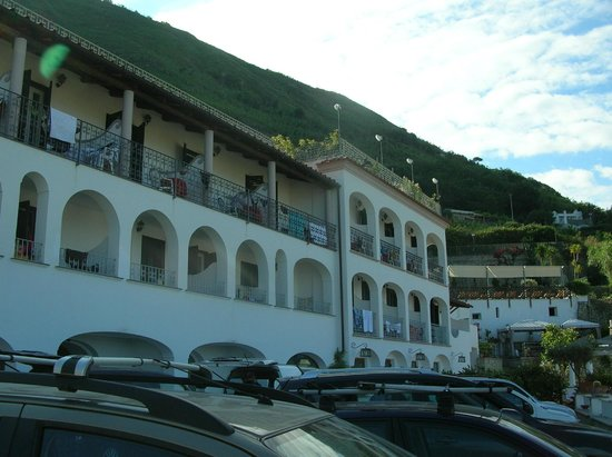 La Rosa Parco Residence: vista dell'Hotel
