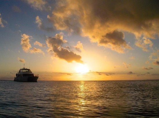 Conrad Bora Bora Nui : Again, Hilton's sunset
