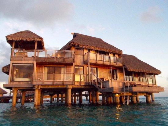 Conrad Bora Bora Nui : The presidential suite
