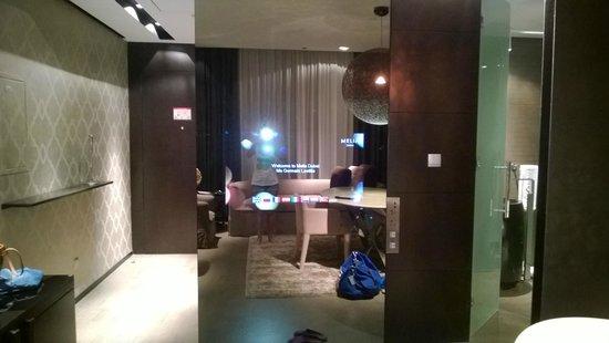 Melia Dubai Hotel: hidden tv