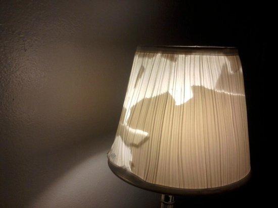 99 Palms Inn & Suites: Desk Lamp