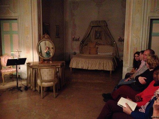 Musica A Palazzo: Act three - bedroom scene