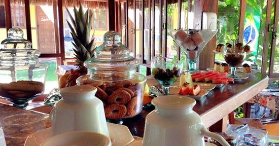 Pousada Sarata: Café da Manhã