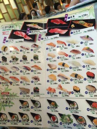 Sushizanmai Honjin: the sushi choice