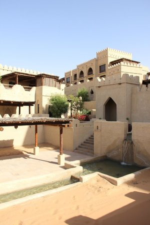Qasr Al Sarab Desert Resort by Anantara: old world feel