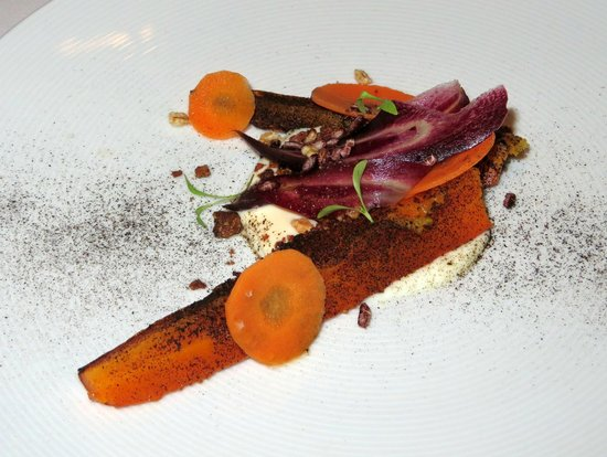 SidArt : Carrot, Coconut, Olive, Goat's Curd