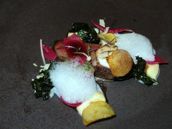 SidArt : Venison, Gouda, Onion, Kale