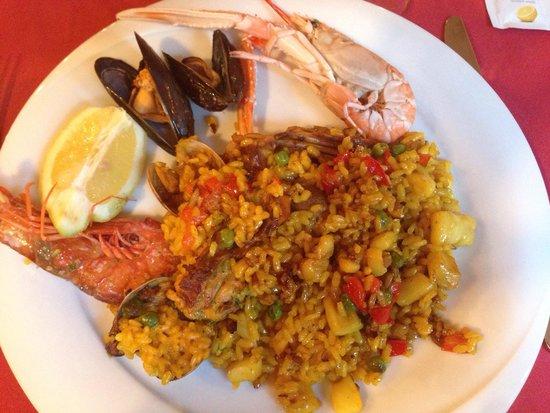 Restaurant Koxkera: Paella mixte : un régal !