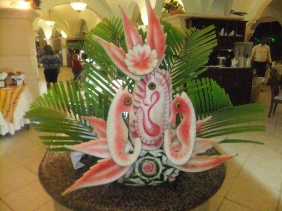 Occidental Caribe : decoration sur fruit
