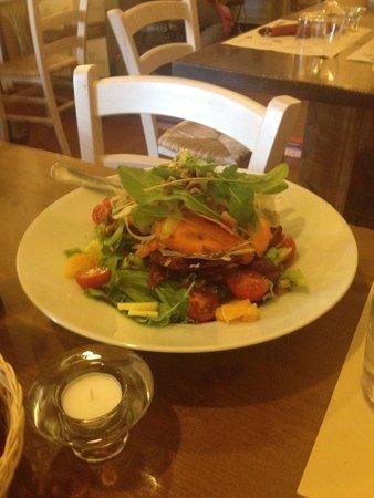 Bistrot Manalù Naturalmente Gluten Free : Delicious fresh salad