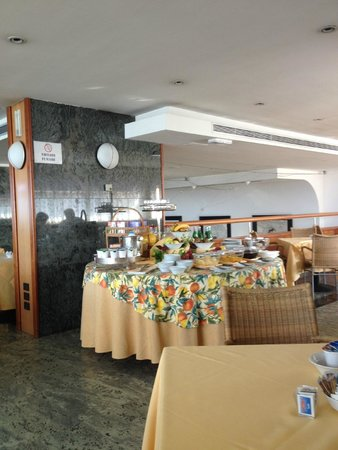 Hotel Excelsior: breakfast area