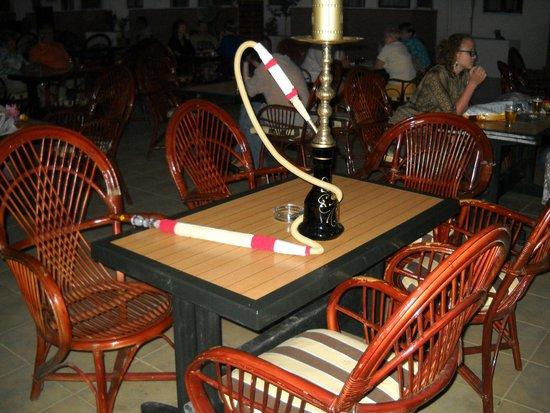Side Yesiloz Hotel: kawiarenka przy basenie