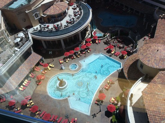 Peppermill Resort Spa Casino: The view from our room