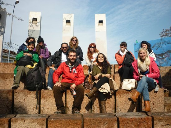 Free Walking Tour of Santiago: Now with the tour guide