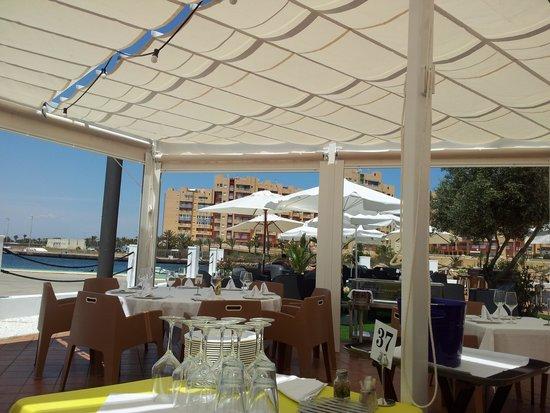 Restaurante club nautico dos mares en san javier con - Restaurante club nautico zaragoza ...