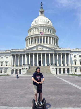 Segs in the City : In front of the Capitol