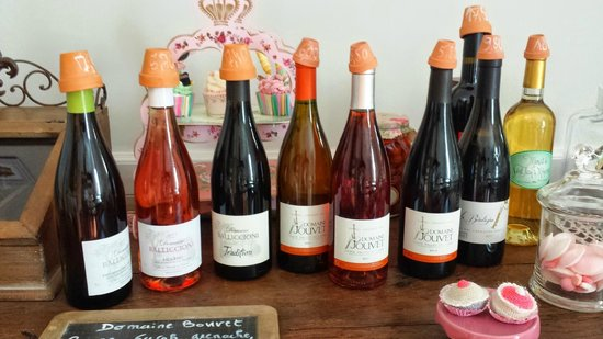 Maison Bersane : Homemade wine