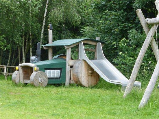 RSPB Old Moor: Play area