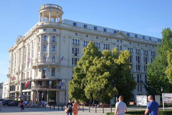 Hotel Bristol, a Luxury Collection Hotel, Warsaw : Beautiful day in warsaw!