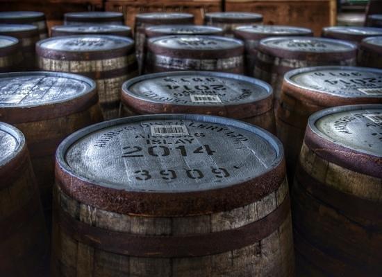 Ardbeg Distillery : warten auf die Befüllung