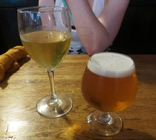 People's Pint Brewpub: Dry hard cider and the summer farmhouse beer