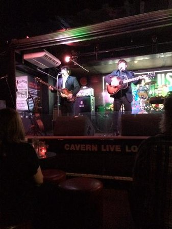 Two of us tribute act at the Cavern Club