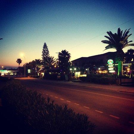 Mon Repos Design Hotel : Вид напротив отеля