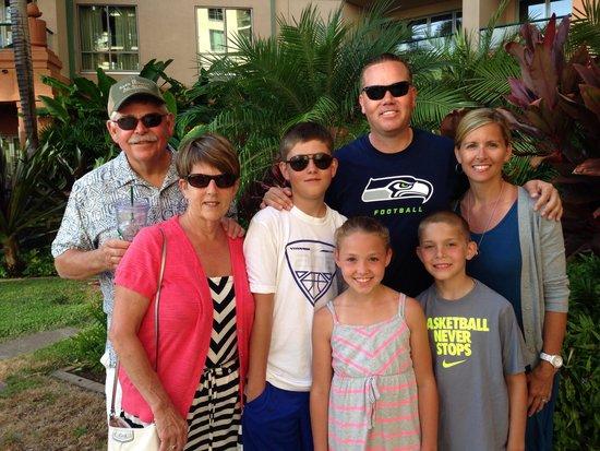 Honua Kai Resort & Spa: Padberg & Mitchell family at Honua Kai