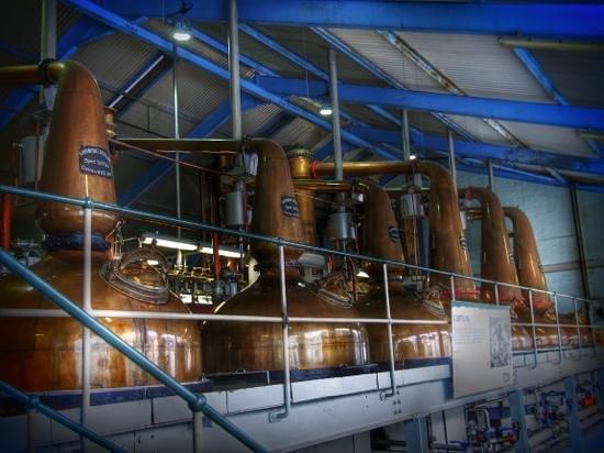 Laphroaig Distillery: auf der Tour...