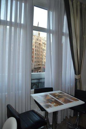 Vitium Urban Suites: Vistas del desayuno