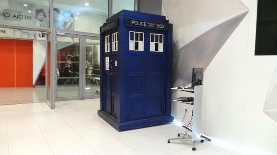 BBC Broadcasting House: The Tardis