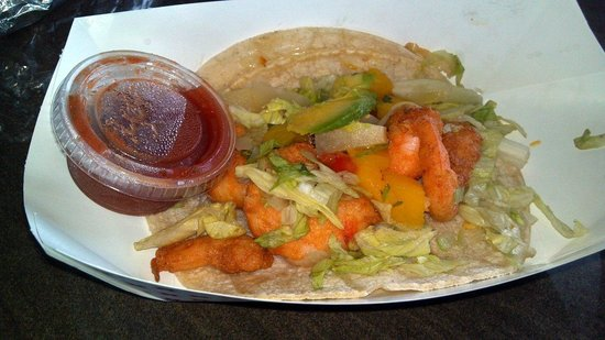 Eduardo's Taco Stand: Shrimp Taco