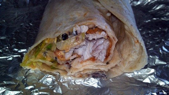 Eduardo's Taco Stand: Burrito Cross Section