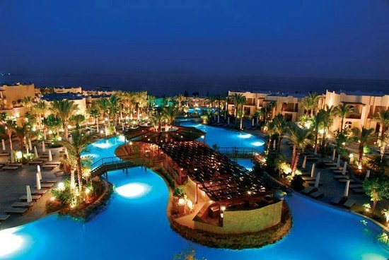 The Grand Hotel Sharm El Sheikh: terrein