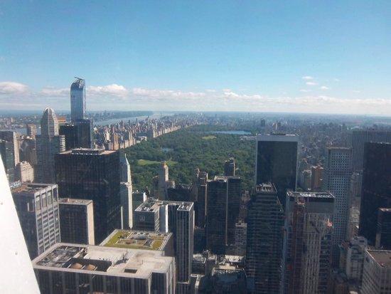 Plate-forme d'observation du GE Building : panorama