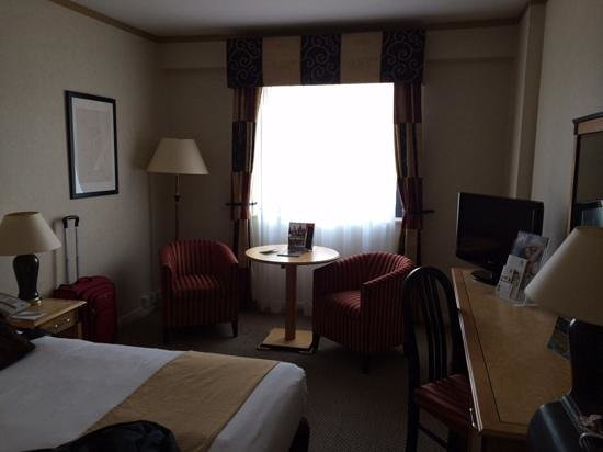 Crowne Plaza London - Kings Cross: our room on 6th floor