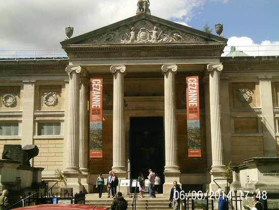 Ashmolean Museum of Art and Archaeology: The Ashmolean during the Cezanne Exhibit