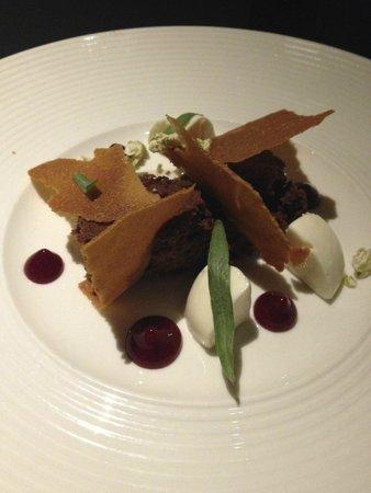 Kodbyens Fiskebar : chocolate dessert