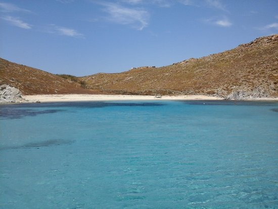 Mykonos On Board Sailing Trips: the best beach