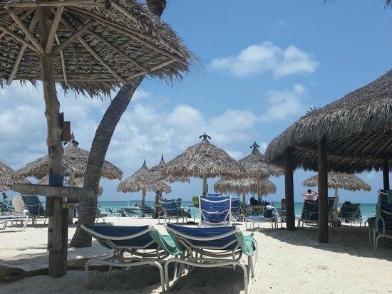 Hyatt Regency Aruba Resort and Casino: Beach huts