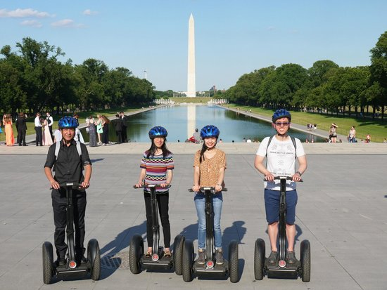 Private DC Segway Tours : Washington Monument