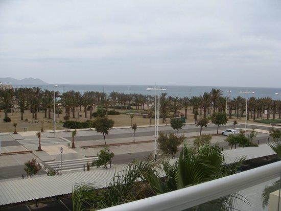 Cabogata Mar Garden Hotel Club & Spa: vistas desde la terraza de la habitacion