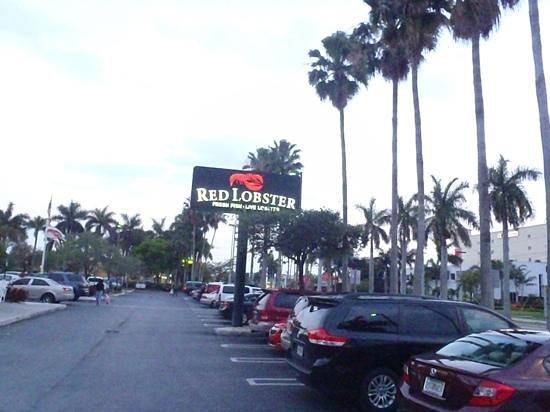 Red Lobster: estacionamento