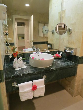 Grand Bahia Principe El Portillo: Junior Suite bathroom