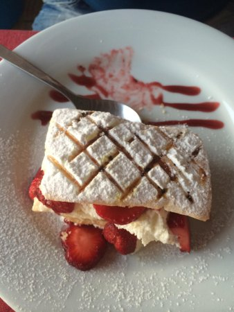 Castelo do Mar Bar, Restaurante: Pudding wAs perfect