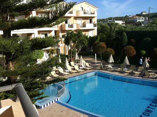 Contessina Hotel: View from room 311