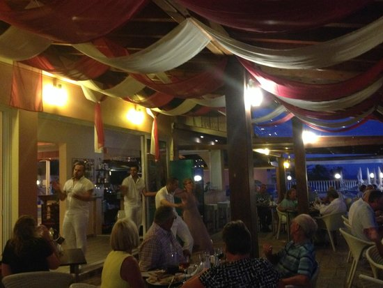 Greek Night at restaurant of Romanza Hotel