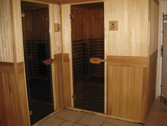Hostellerie a la Ville de Lyon : sauna