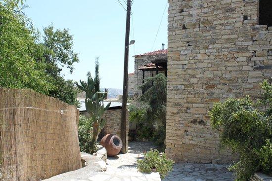 Vavla Rustic Retreat: Entrance