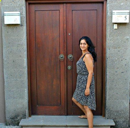 Lumbini Luxury Villas and Spa : The entrance to the villa